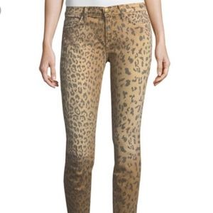 NWT Current/Elliot Leopard Jeans